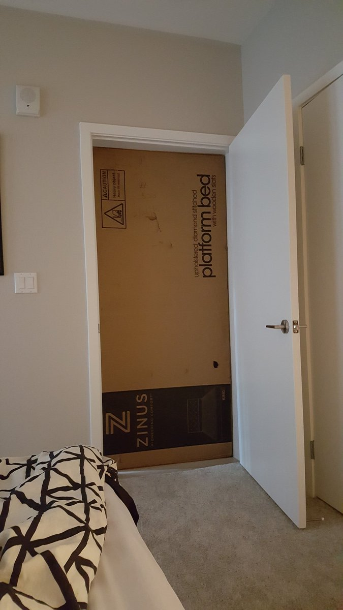 Jonathan Larsson on Twitter  @SideshowGaming @BrenCasts Why am I waking up with my door barricaded by boxes?u2026   & Jonathan Larsson on Twitter: