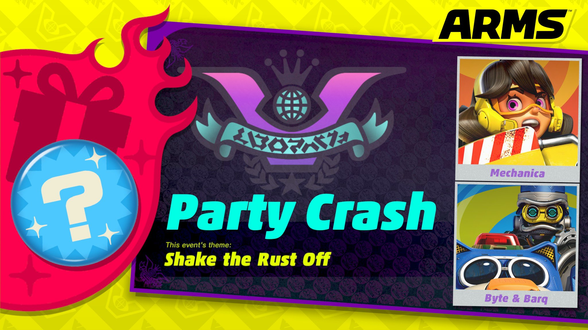 The #ARMS Party Crash is now underway! Which fighter are you supporting? https://t.co/Ql1BD2EBqh