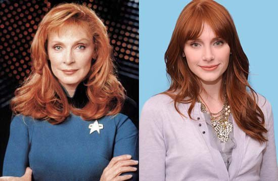 Happy birthday to Gates McFadden and to Bryce Dallas Howard, who some think look alike.