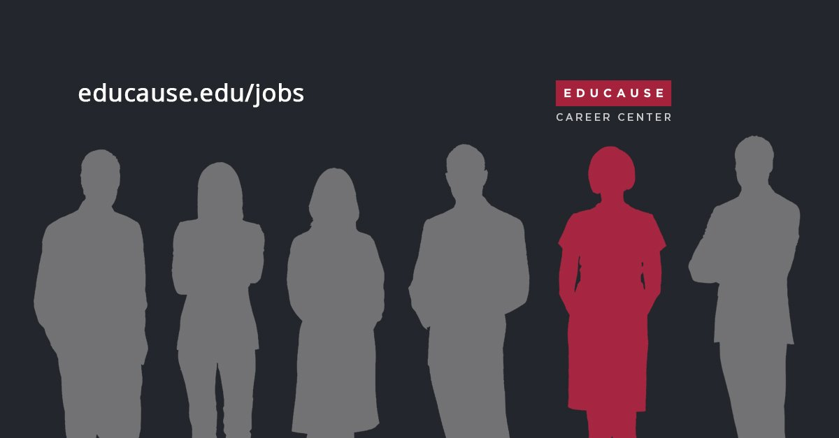Passionate about #HigherEd IT? Institutions across the country are looking for you: http://jobs.educause.edu/jobs #ECareerCenter