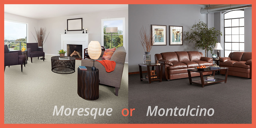 It's the battle of the neutral carpets! Which of these styles would you pick for a living room, and why?  #StaatsburgNY