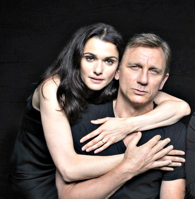 Happy birthday to Rachel\s husband, Daniel Craig!