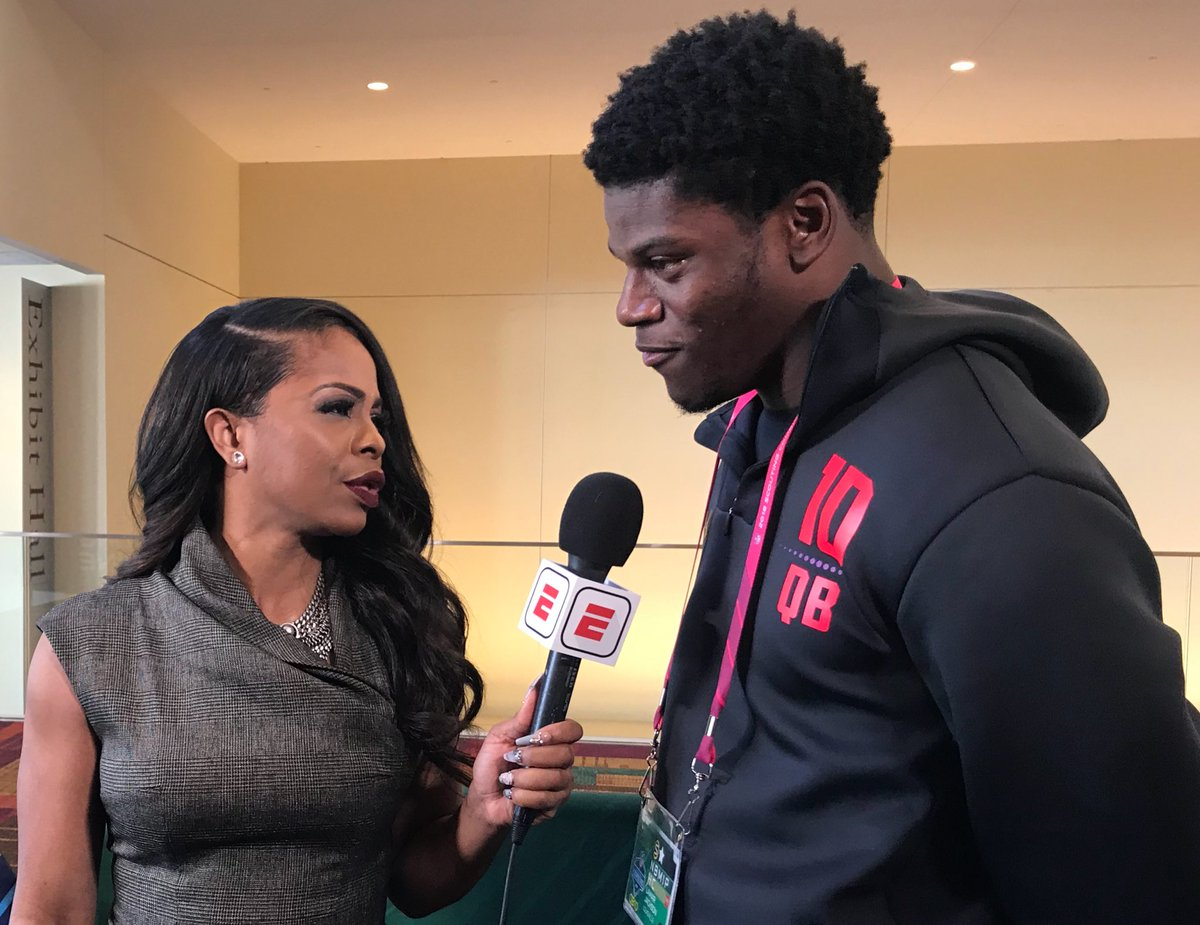 Ig Josinaanderson On Twitter Lamar Jackson Told Me That His Mom Is Not His Agent She Is My Manager And He Added I Represent Myself Jackson Told Me He Does Not Think