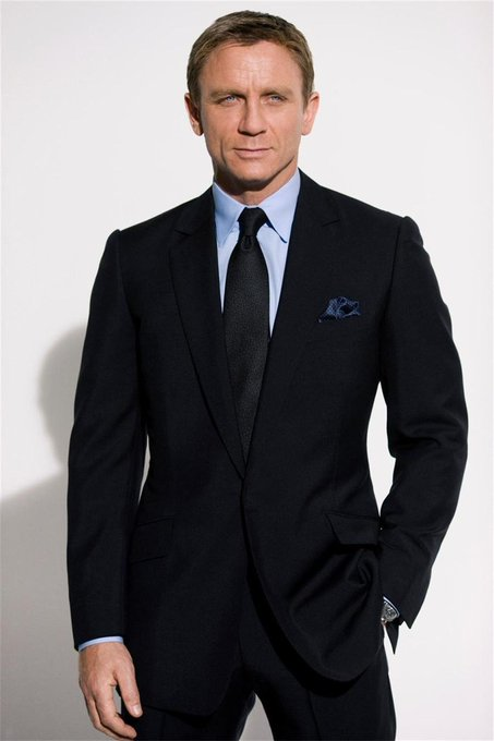 Happy 50th Birthday Daniel Craig.