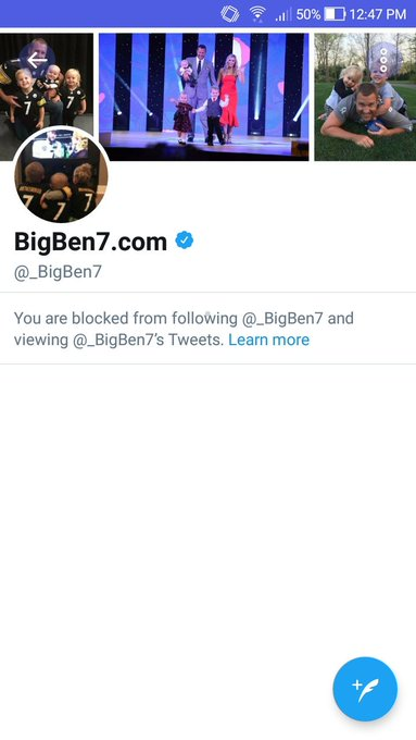 I would wish Ben Roethlisberger a happy birthday but....