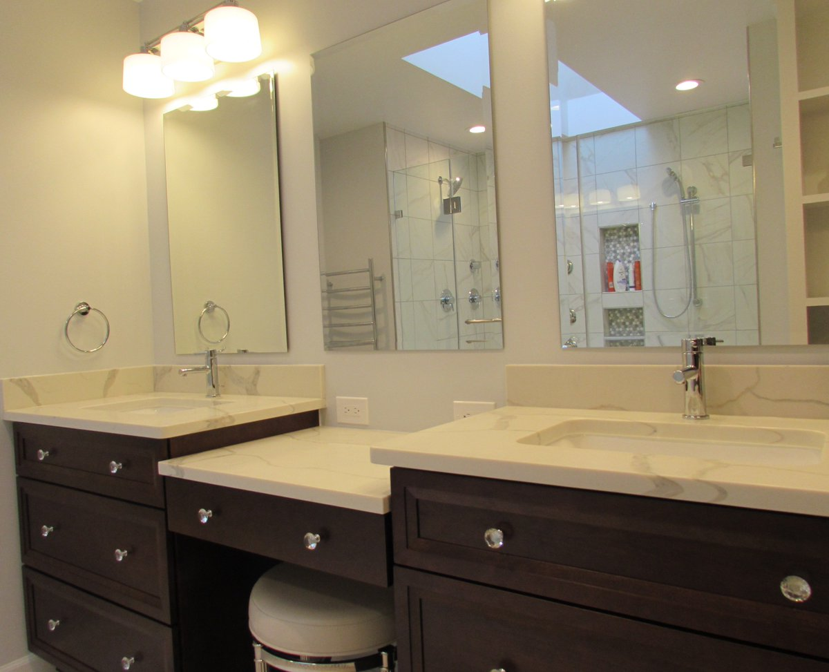 Talon Construction On Twitter Beautifully Designed Master Bathroom - Gaithersburg bathroom remodeling