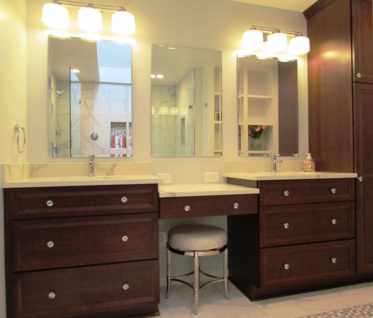 Talon Construction On Twitter Beautifully Designed Master Bathroom - Bathroom remodeling gaithersburg md