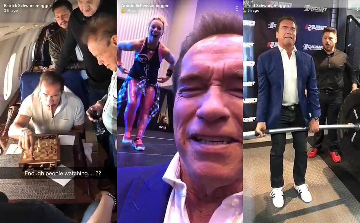 We're at the Arnold Classic having a blast! Sure, you could watch @Schwarzenegger on Snapchat (ArnoldSchnitzel) or you could get your ass to Ohio and see Arnold and the other outstanding athletes in person! Goooo, get to the #ArnoldClassic2018!