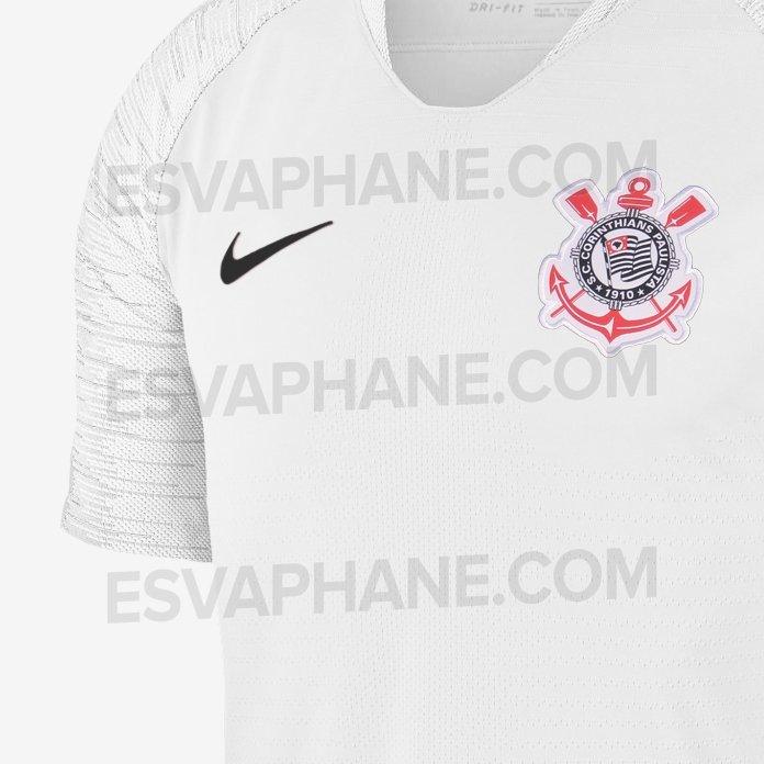 f7f60f11a7 Nike não confirma e se posiciona sobre possíveis uniformes  vazados  do  Corinthians