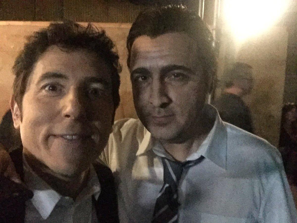 Con el gran @raulperez_76 durante la pub...