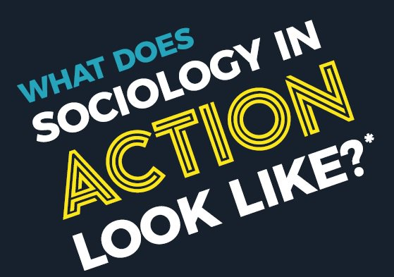 What does #sociology in action look like? #SOCinAction ow.ly/dQ7T30iEiC4