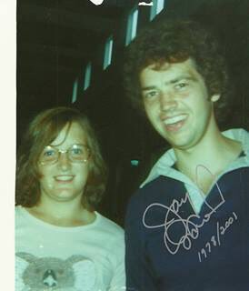 Happy Birthday to Jay Osmond my first crush.  We\ve grown up and aged well together
