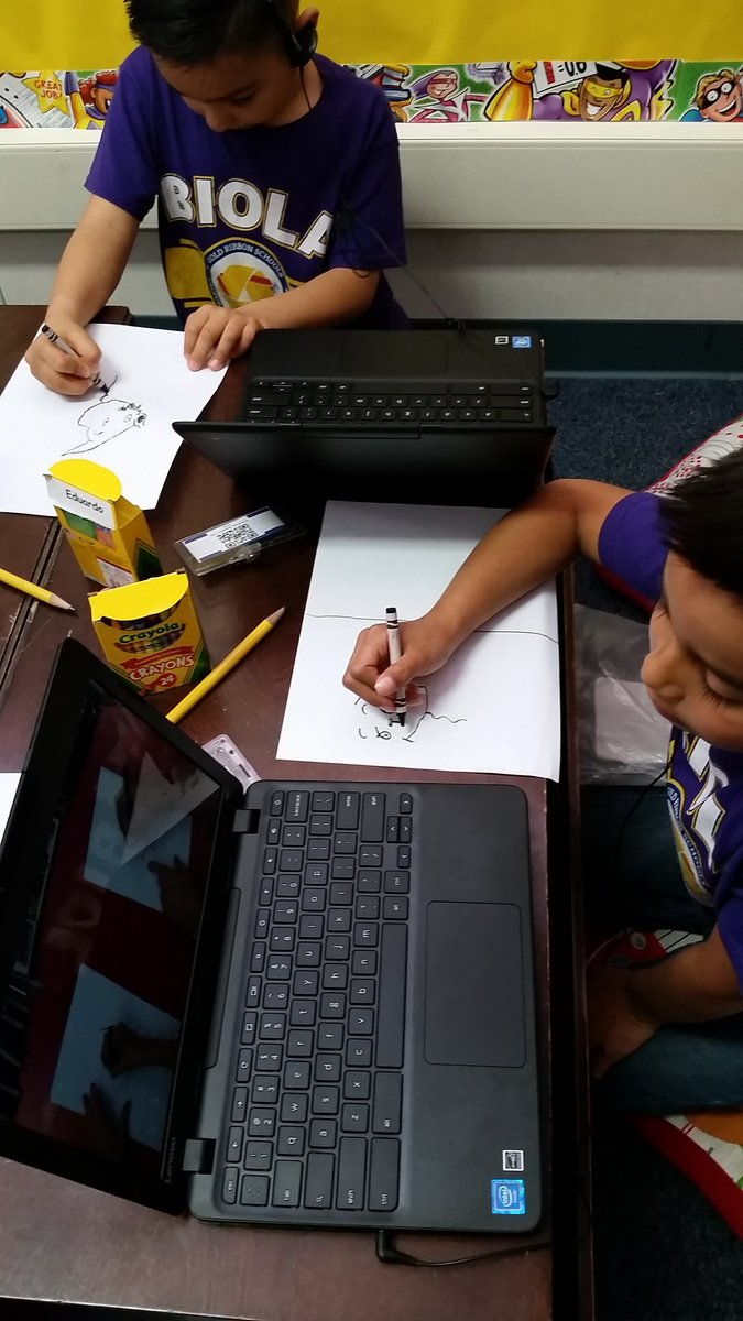 Integrating Youtube video Directed drawing The cat in the hat in our ELD lesson. Happy birthday Dr. SUESS #centraltech