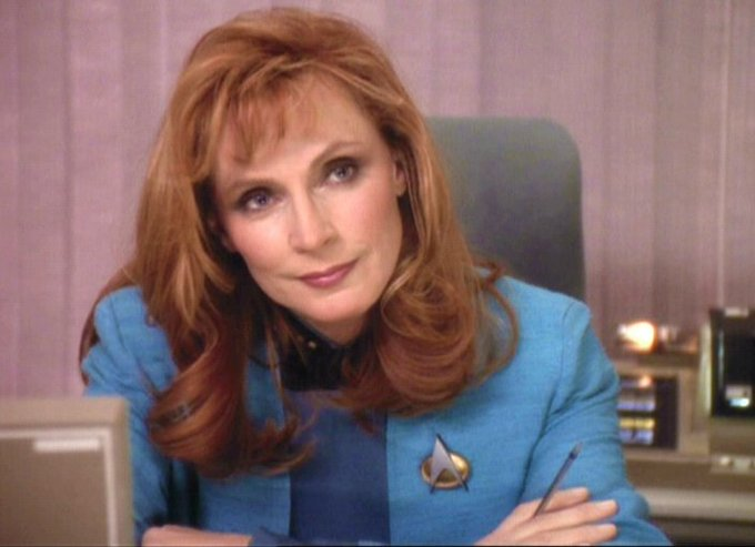 Happy Birthday to the one and only Gates McFadden!!!