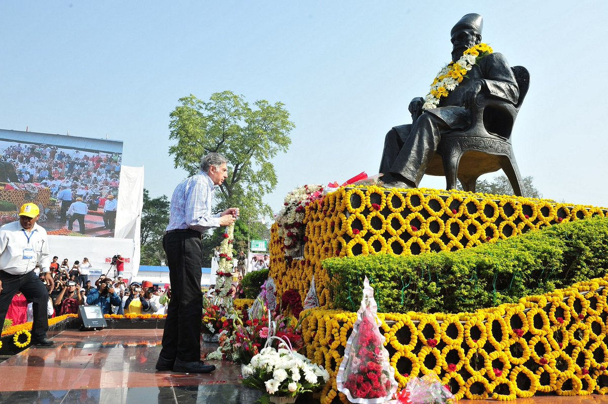 Always feel nostalgic and inspired when in Jamshedpur... Founder's Day is always special.