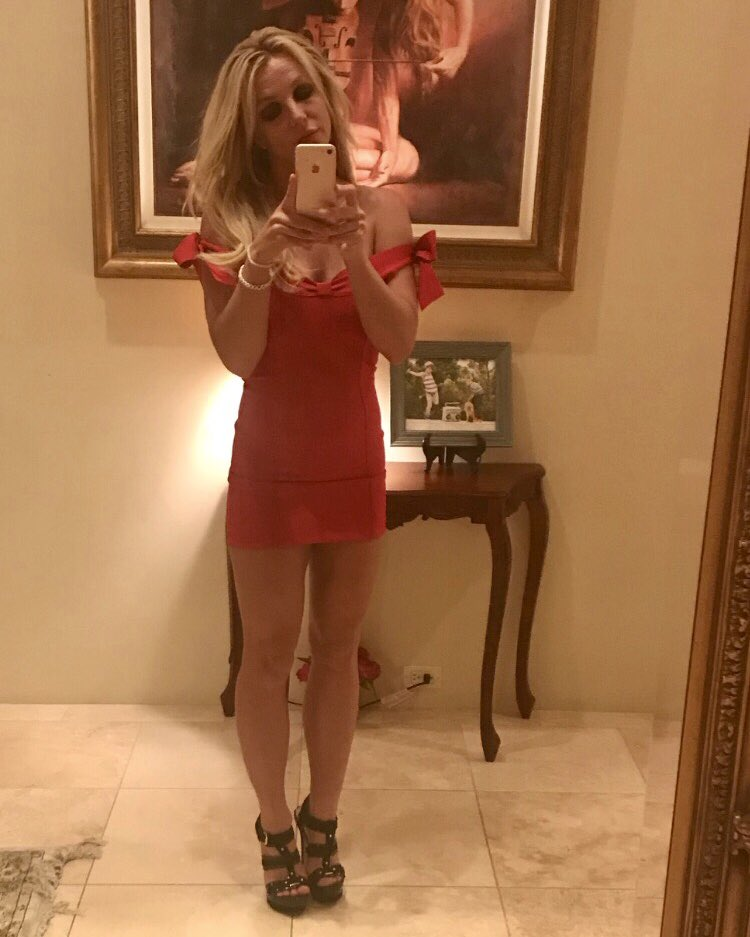 Going out tonight!! Found my red dress!!...