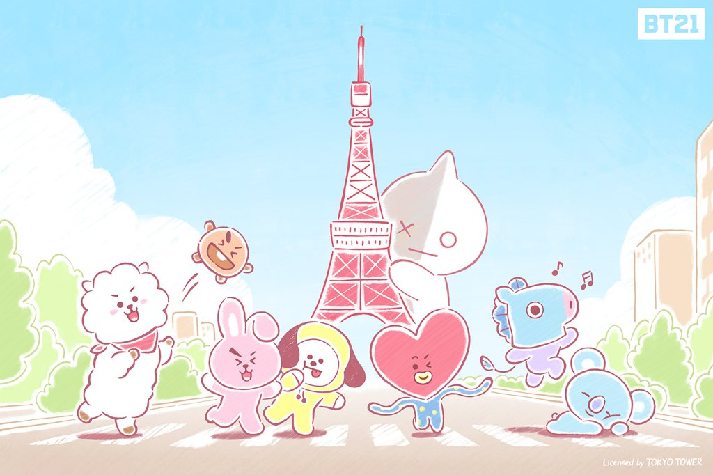 Picture BT21: Meet BT21 soon at LINE FRIENDS HARAJUKU ...