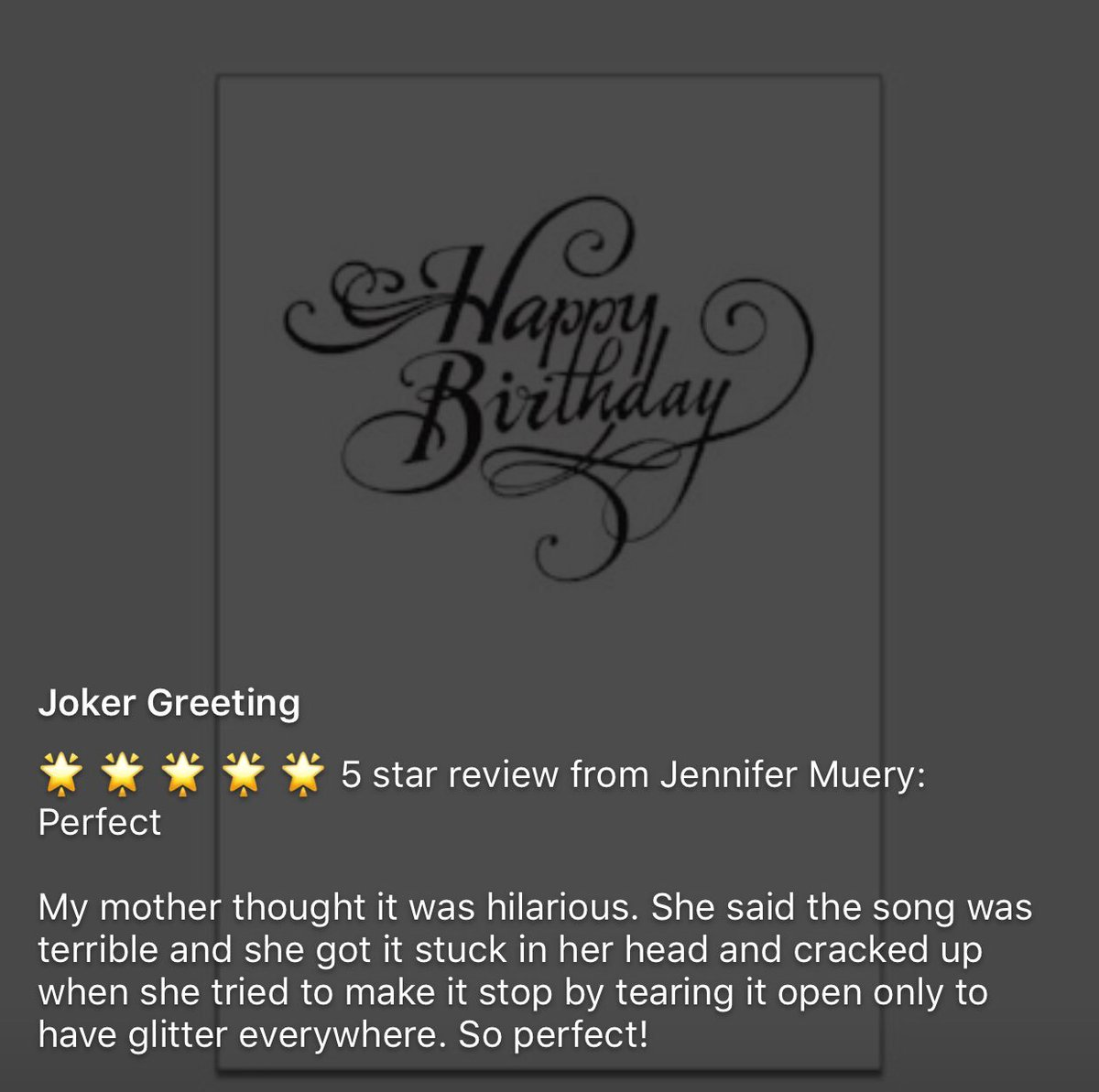 Joker greeting on twitter so perfect prank greeting cards joker greeting on twitter so perfect prank greeting cards birthday gift funny m4hsunfo