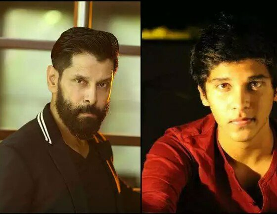 Vikram and Vijay with their sons Latest Pics