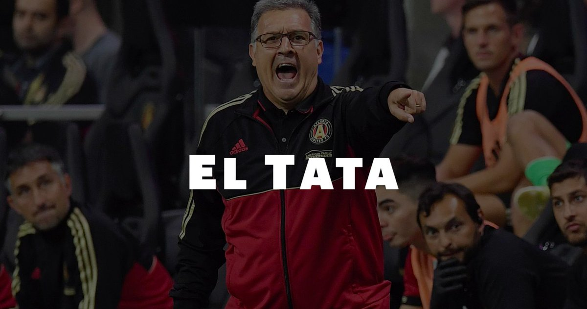 Tonight, the #MLSCup final will be El Tatas last game with @ATLUTD. Miguel Almirón, @josefmartinez17 and @TitoVillalba15 talk about where it all began: When they first got the call from the legendary coach.