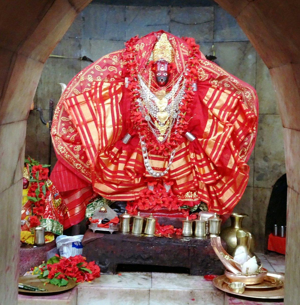 Ma TripuraSundari has blessed @narendram...
