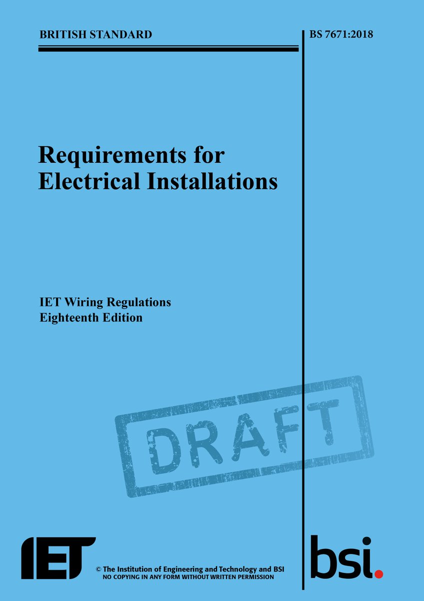 """IET on Twitter: """"IET news: Buildings to have improved electrical wiring  standards for better fire protection, in update to UK regulations ..."""