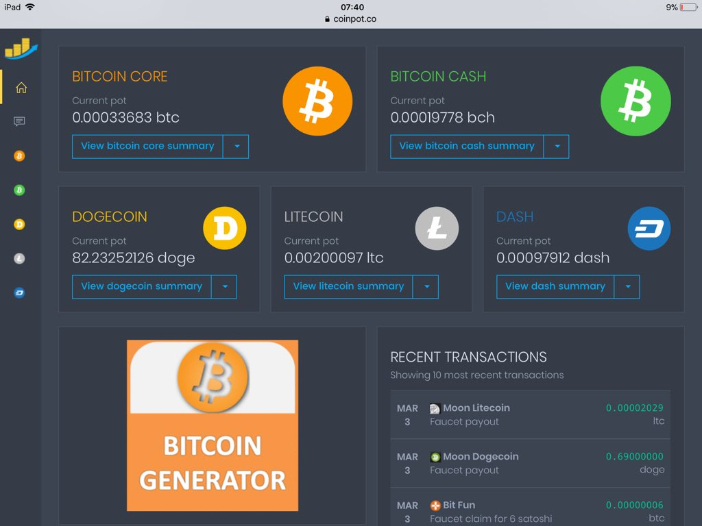 Free Bitcoin Mining Software For Windows Litecoin Faucet List – Site