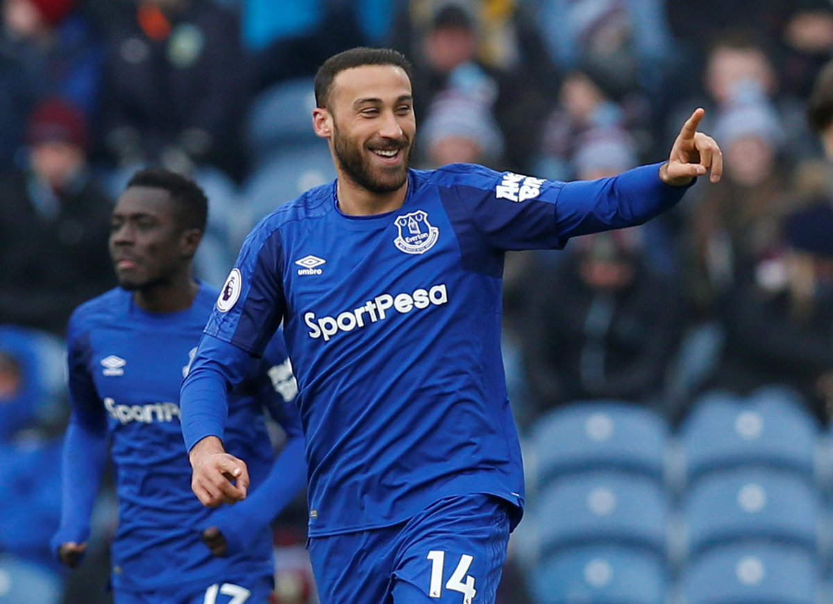 📸 A 1st goal for Everton and 1st in the #PL for Cenk Tosun Burnley 0-1 Everton (28 mins) #BUREVE
