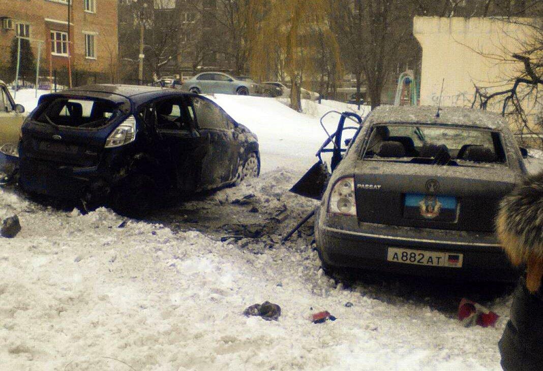 Пострадал один человек в результате взрыва в центре Донецка - Цензор.НЕТ 7511