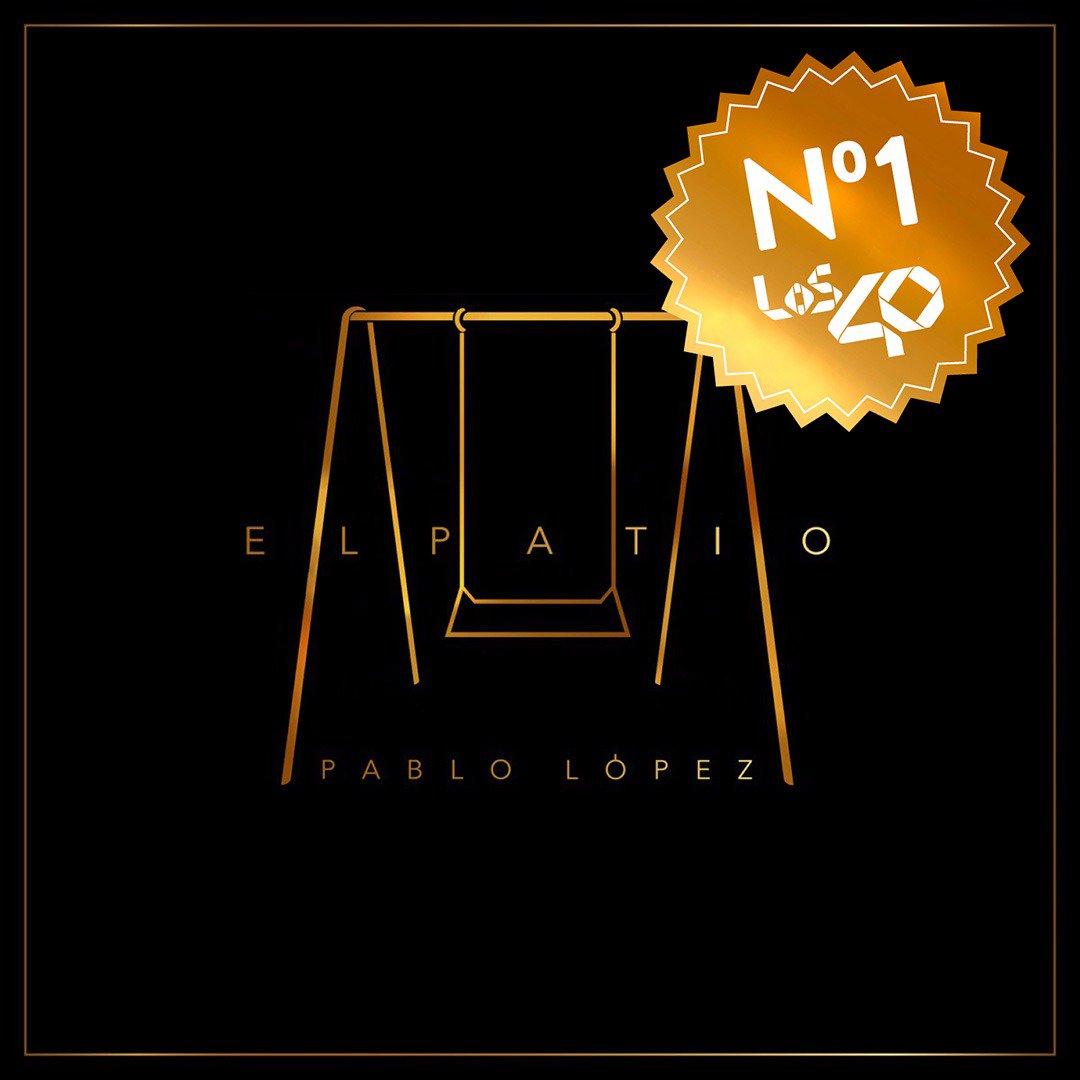 Grande @PabloLopezMusic !Nuevo líder de...