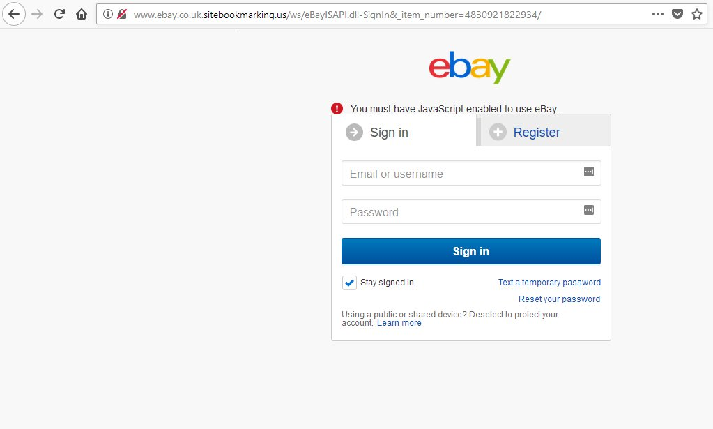 Maelstrom On Twitter Hey Ebay Someone Is Phishing Your Users Please Take It Down Https T Co Odkb5fccfg Cc Phishingalert Malwrhunterteam Https T Co Lxugtv9fhw
