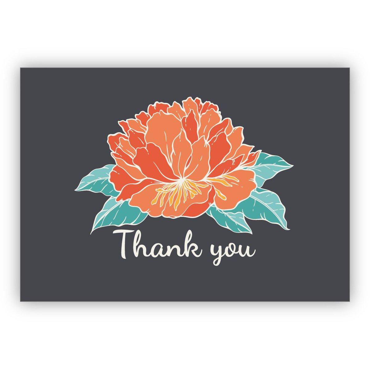 Kartenkaufrauschde в Twitter Elegante Englische Blumen