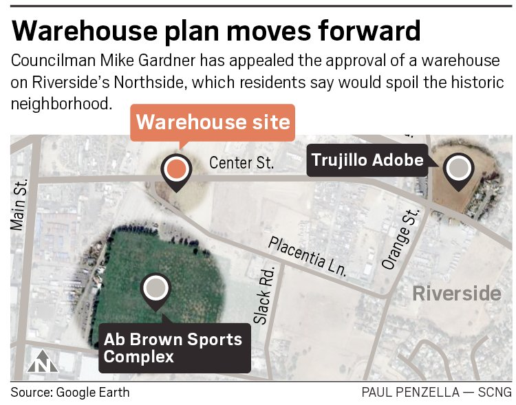 The Press Enterprise On Twitter Disputed Northside Warehouse Will