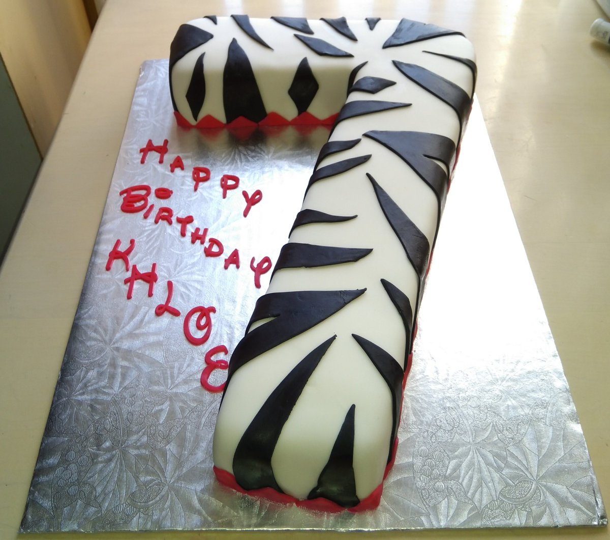 Brilliant Marylou Volpe On Twitter Zebra Print Birthday Cake Birthday Funny Birthday Cards Online Overcheapnameinfo