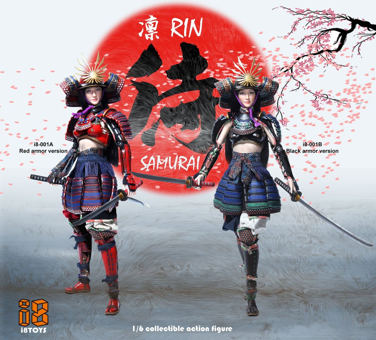 Smcg On Twitter New Brand I8toys Rin 1 6 Scale Female Samurai Figure Order Now Smcgcustoms Https Tco W7dlqgx4p1