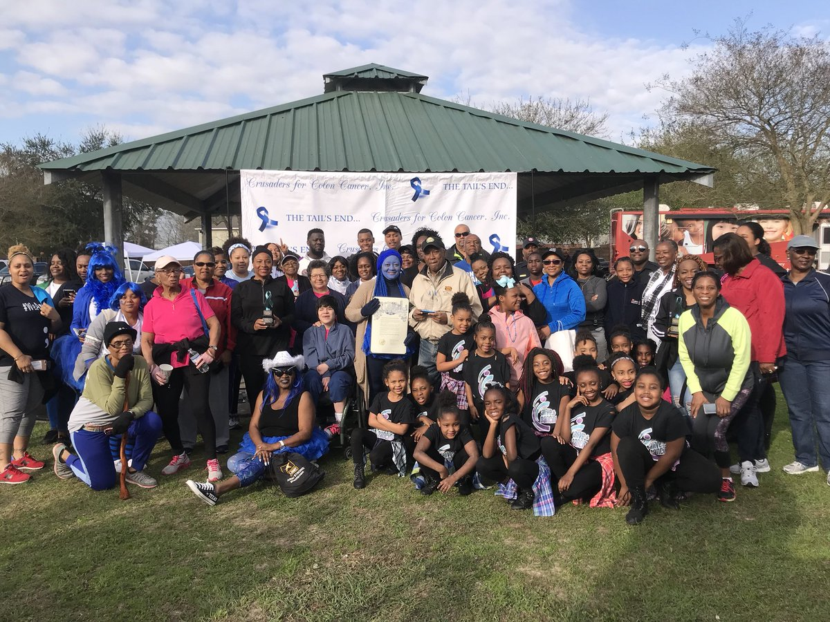 Sylvester Turner On Twitter The 5th Annual Crusaders For Colon Cancer Inc Awareness Walk Took Place At Sylvester Turner Park Colorectal Cancer Affects More Than 140 000 Americans Lives Every Year March Marks