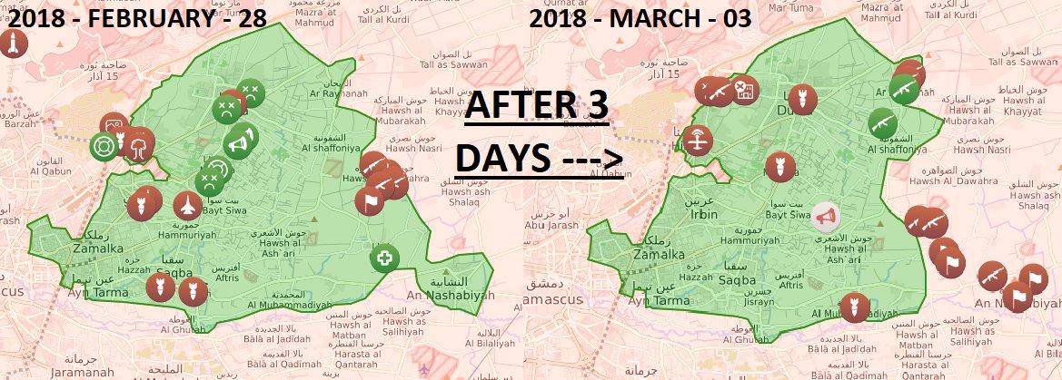 Коротко по Сирии. 04.03.2018