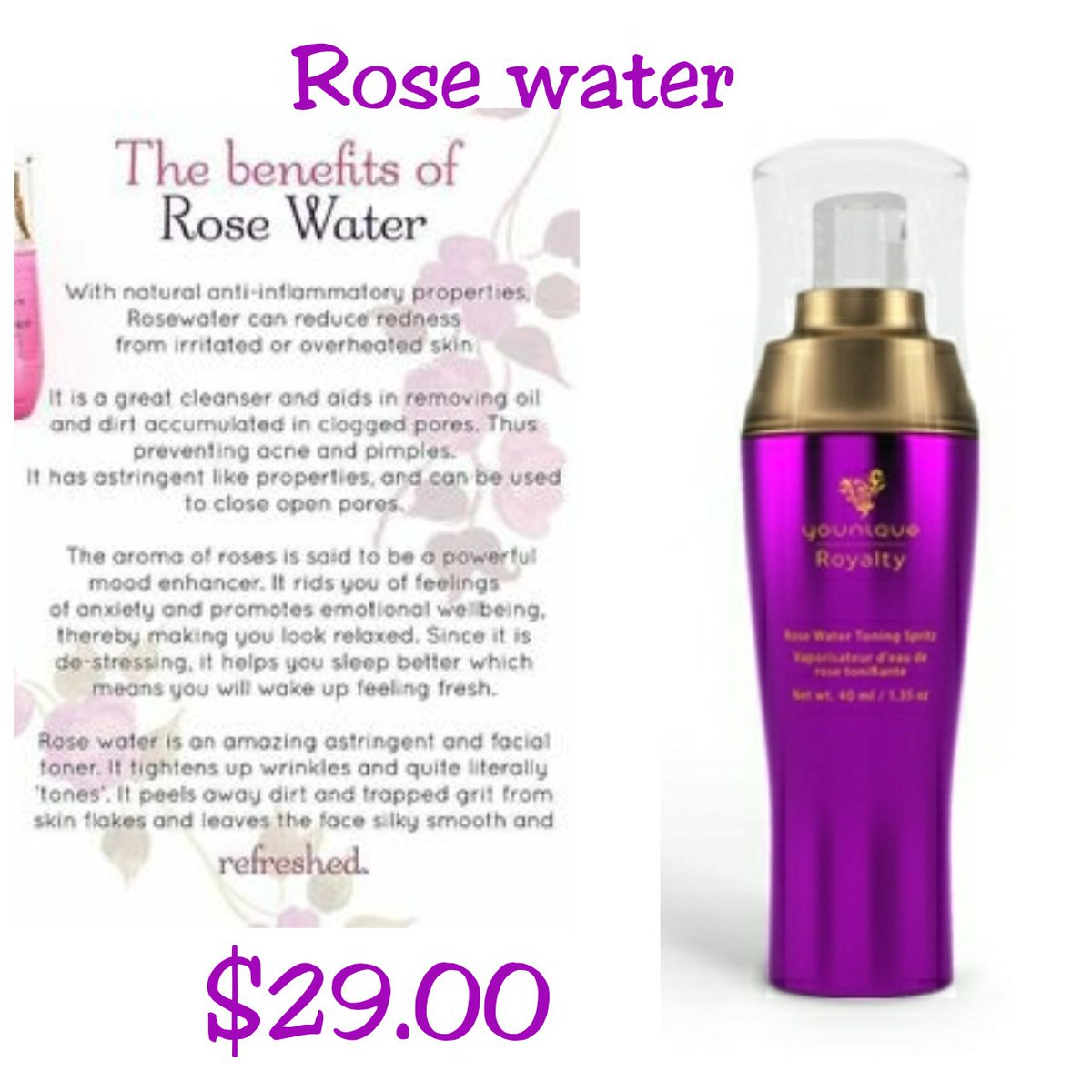Abby Packer On Twitter So Many Benefits From Rose Water It S Used