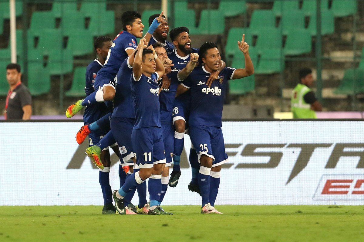 DXYRfbKXkAYZsqq - Goa and Chennaiyin To Lock Horns At Fatorda To Get A Step Closer To Their 2nd ISL Final