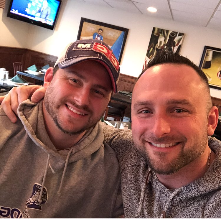 From chasing one another around the house as kids to breaking bread together as men. #family #bigbrother