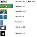 今となっては知らないものが多い?Windowsの歴代スタートボタンがこれ!