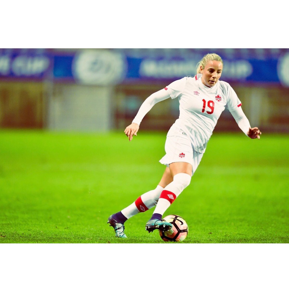 Sporty and fun. #AlgarveCup2018 #CANWNT...