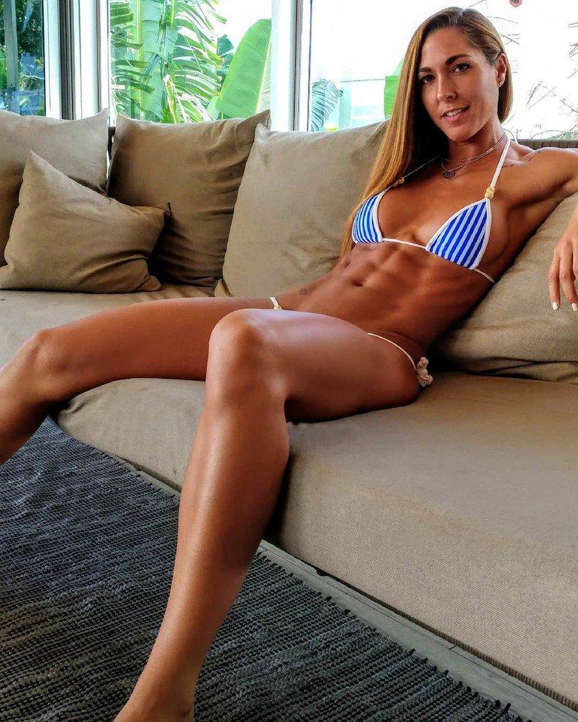 Hard body girl