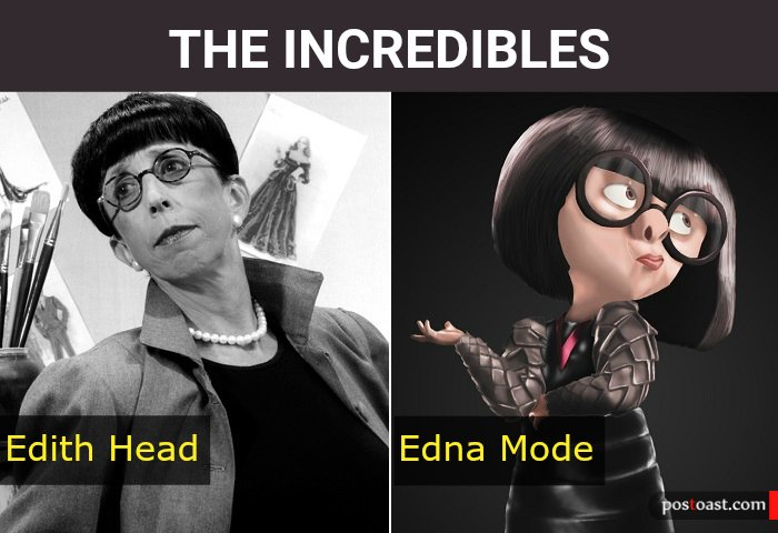Cal Bears History On Twitter More Recently Edith Head Was The Model For Edna Mode The Eccentric Superhero Fashion Designer In The 2004 Film The Incredibles See What A Degree In French