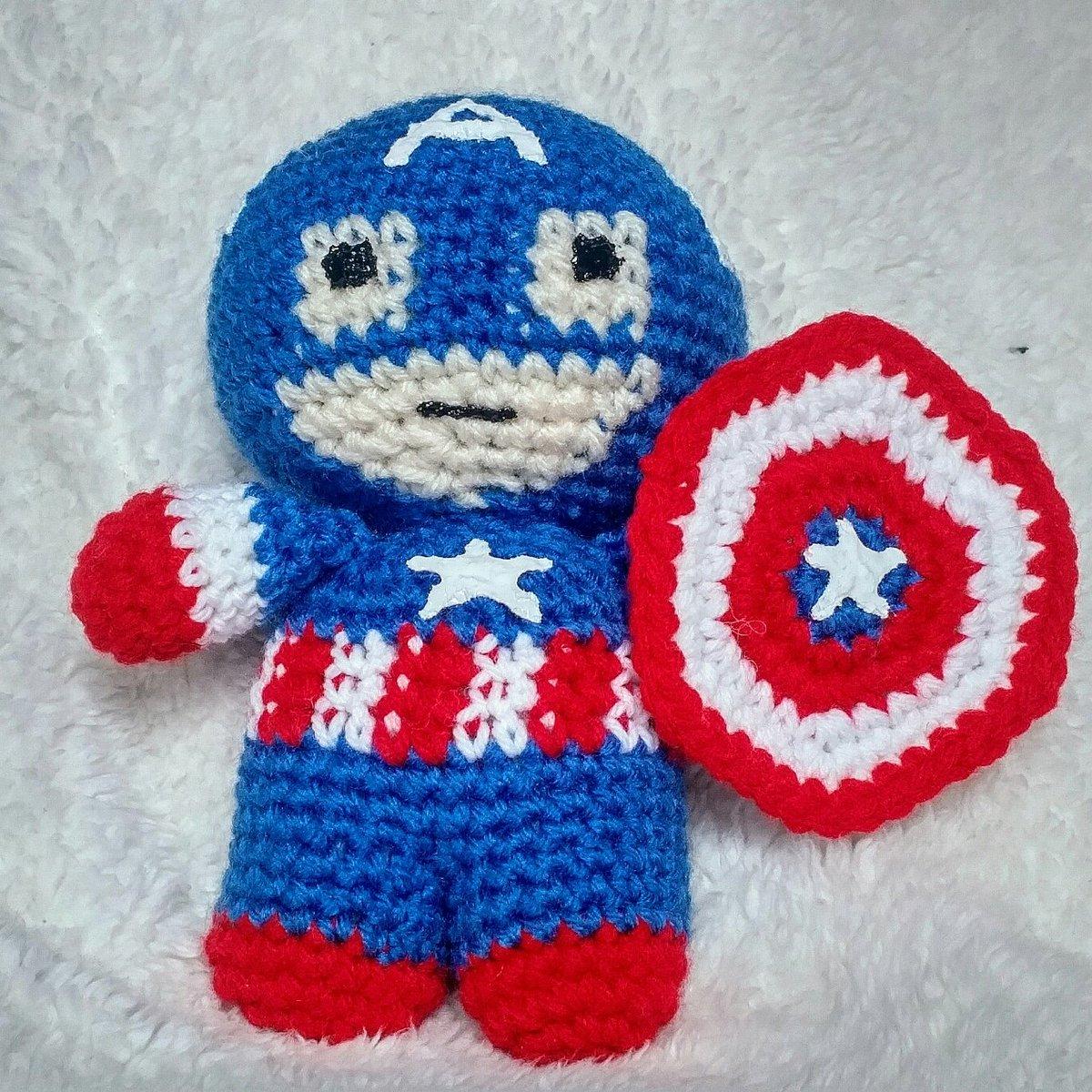 Captain America Amigurumi Crochet Doll Pattern | Amigurumi ... | 1200x1200
