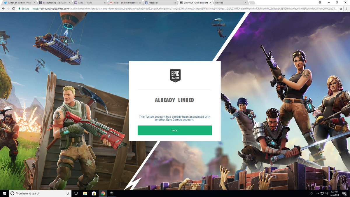 Epic Games Account Fortnite
