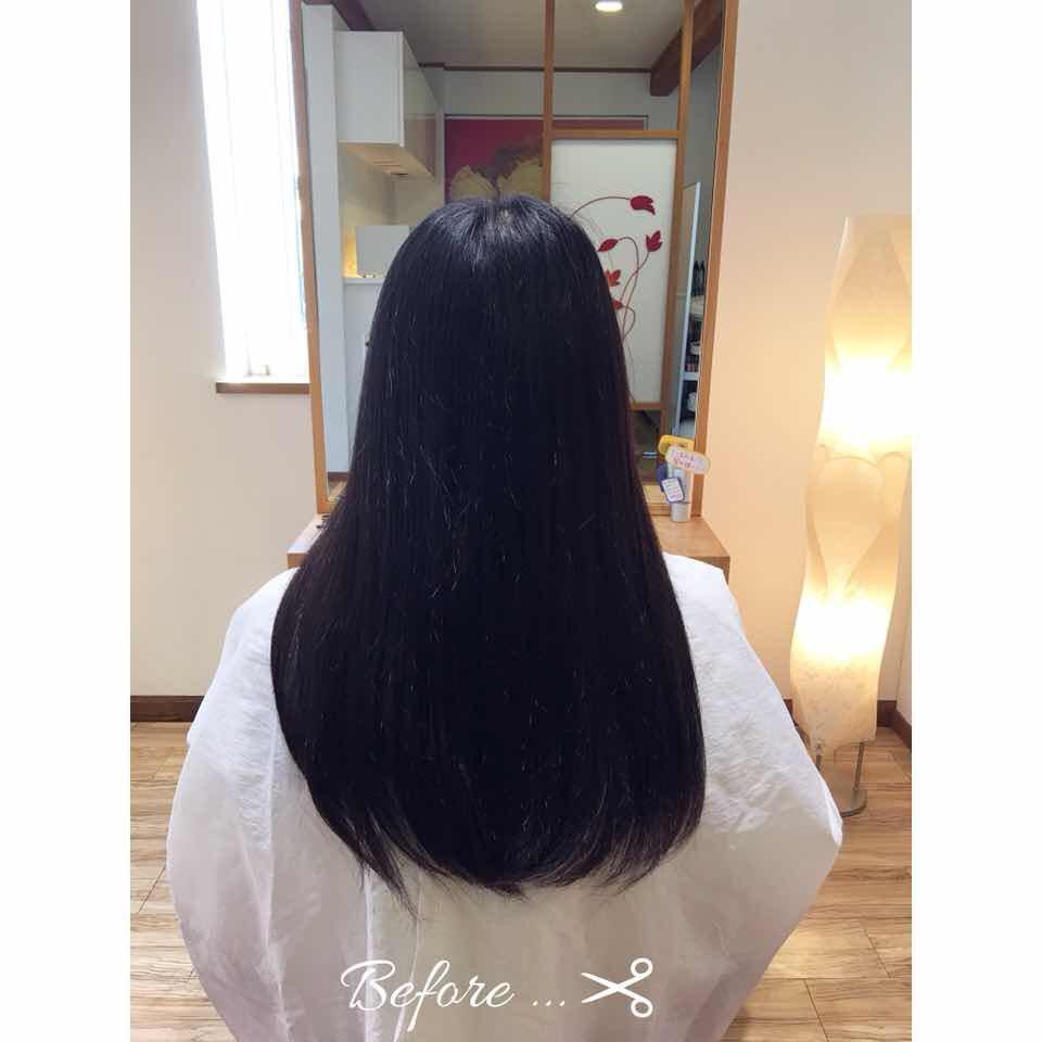 ✂︎高校卒業限定イベント✂︎ 2年以上伸ばした髪をバッサリ✨✨毛先は内巻きパーマをかけて、優しい印象に💕毎日のスタイリングも楽になりますね🎶 ~HP最新情報更新中~  LINEでご予約、ご相談できます! #可児市美容室 #ケーティーズジャパン #肌に優しい #内巻きパーマ