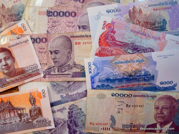 The Usd Is Cambodia S Unofficial Second Currency But They Don T Use American Coins So Change Will Be In Riel Atms Dispense Both And