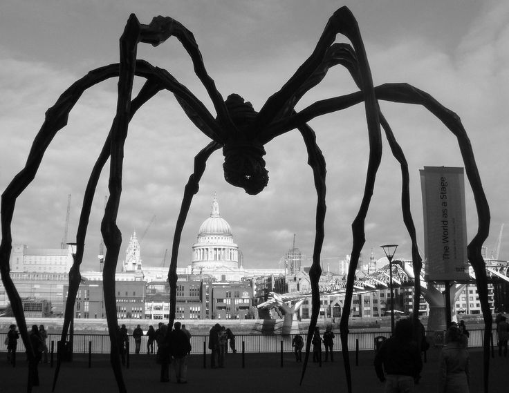 "test Twitter Media - RT @womensart1: Maman (""mother""), 1999 by Louise Bourgeois #womensart https://t.co/W1g5JfO0ok"