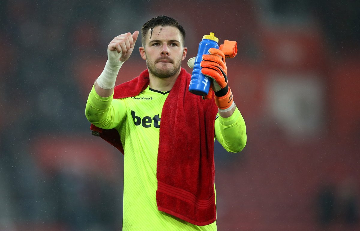 Liverpool are closing in on the £40m signing of Stoke City and England goalkeeper Jack Butland. (Source: Sunday Mirror)